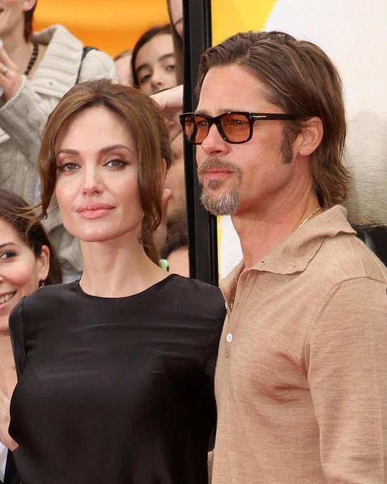 "7th Brad Pitt and Angelina Jolie ! Sparks flew not only between Brad and Angelina's character in ""Mr. & Mrs. Smith,"" but in real life too! Who will ever forget the fact that Brad left Jennifer Aniston for Miss Jolie?"