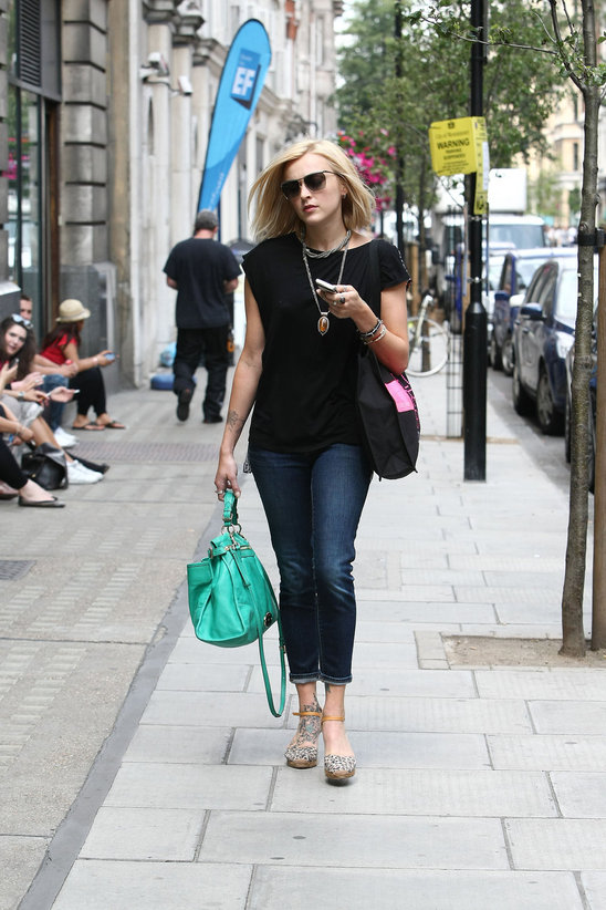 Fearne Cotton has the same bag as Blake Lively .