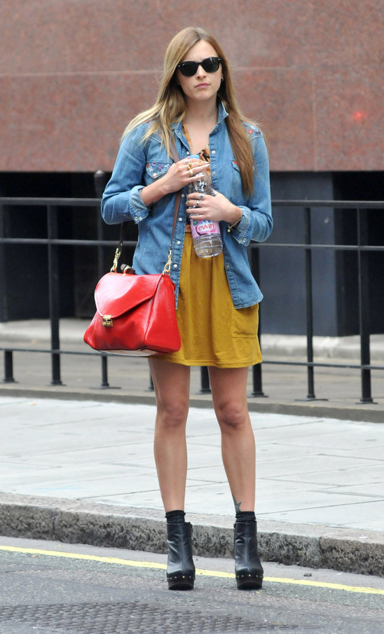 Fearne and bought a red! She has every single bag from all the collections?